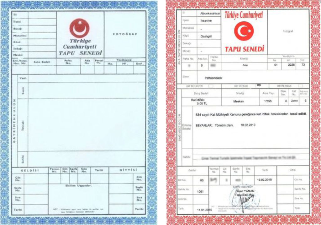 What is the Turkish Title Deed?